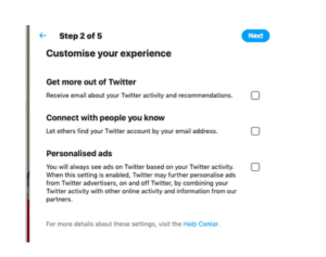 customise feed twitter