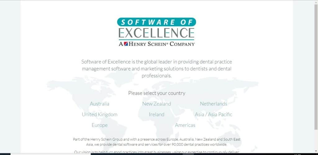 Software of Excellence Dentist software