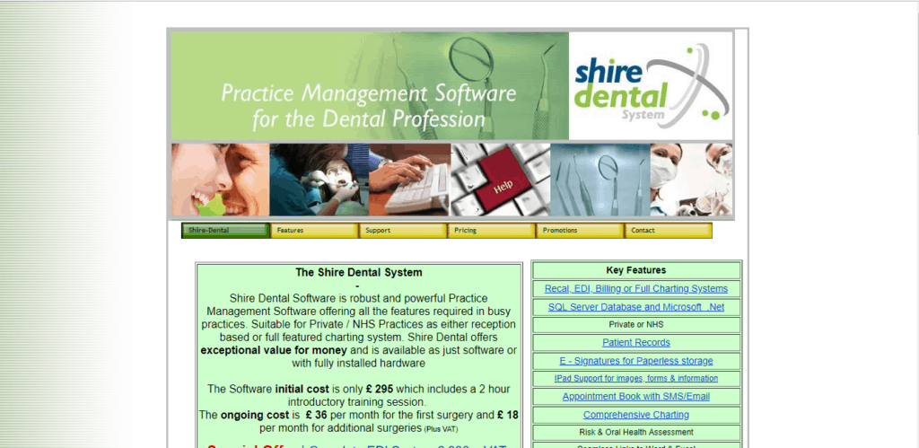 shire dental dental software